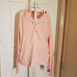 Xhilaration Pink Sleepwear Top Sz M